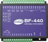 BF-440 (4 Port)/BF-480 (8 Port) Serial to TCP/IP Converter