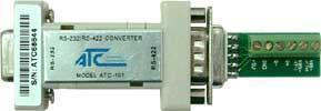 ATC-101 RS422/232 Converter  & ATC-106 RS485/232 Converter
