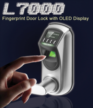 L7000 Fingerprint Door Lock with OLED Display