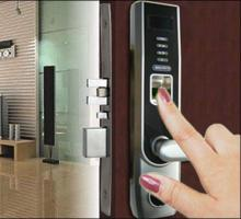 L5000 Fingerprint Door Lock with OLED Display